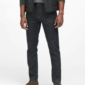 Banana Republic Slim Legacy Jeans 33/30 Dark Wash